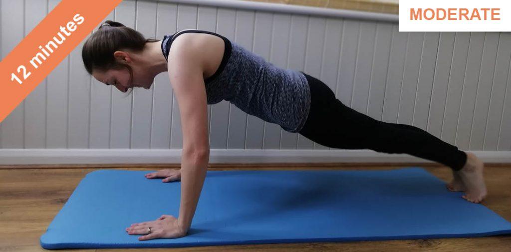Bums and tums Pilates workout