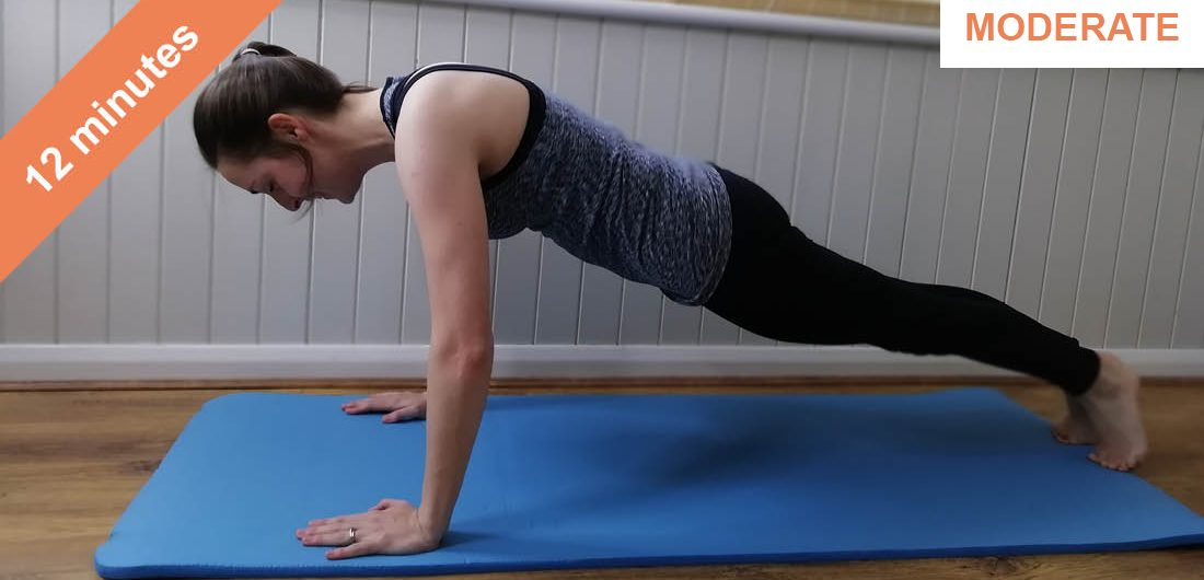 Bums and tums Pilates workout
