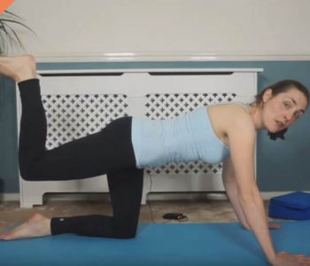 PIlates glute strengthening workout