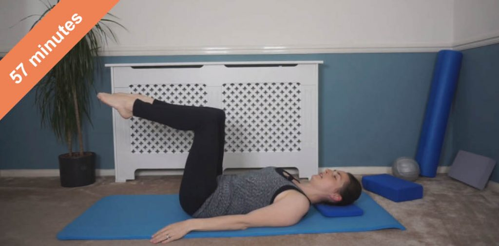Pilates glute and core