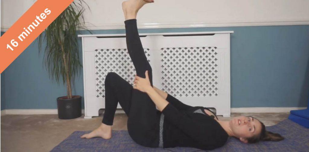 core focus Pilates class
