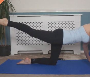 Bum toning Pilates workou