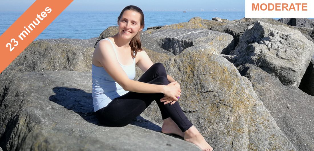 Stretching and lengthening Pilates