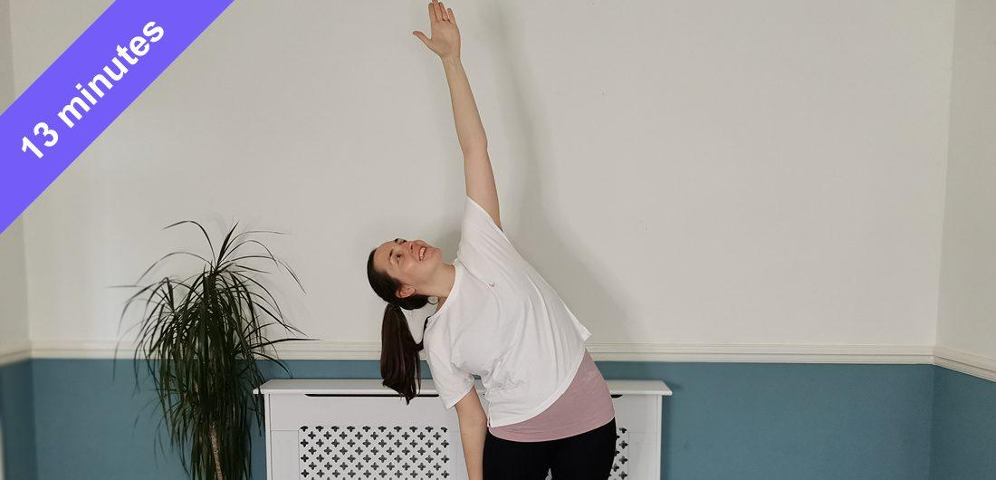 Energising Pilates class