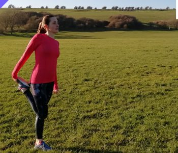 Pre run Pilates workout