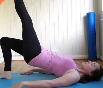 Glutes and upper body pilates