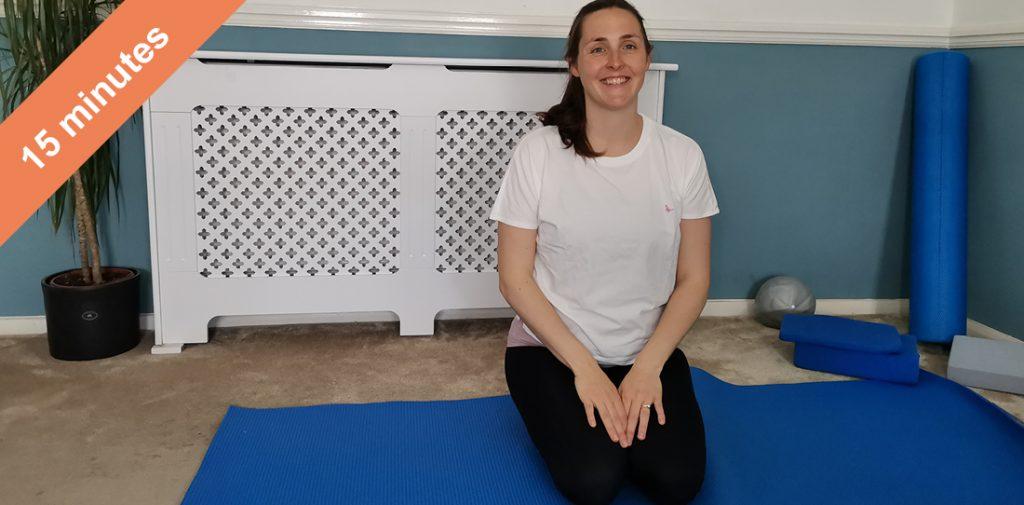 Pilates class to improve balance