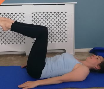 Full body Pilates workout with hip focus