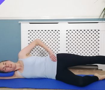 Pilates glutes workout