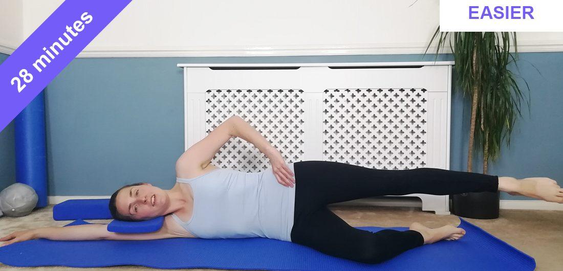 Pilates glutes workout