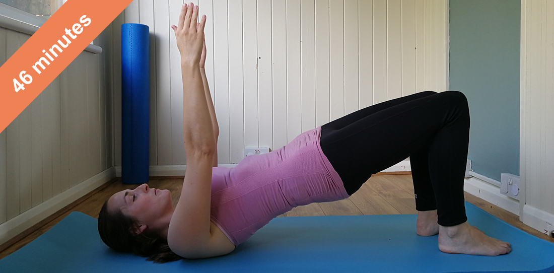 Abs and glutes muscle control